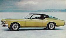 1971 Buick Riviera Coupe Press Photo 0102