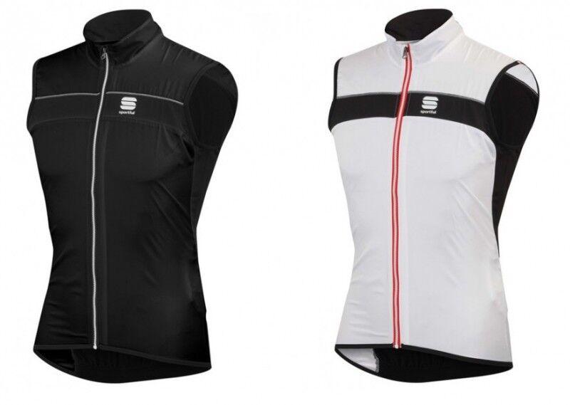 Sportful Shell Vest 1101255 Fahrrad-Windweste Wasserabweisend Schwarz o. Weiß