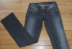 GUESS-Jeans-pour-Femme-W-28-L-34-Taille-Fr-38-Ref-S106