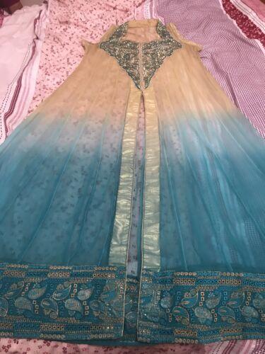 abito pakistano media taglia da a cucire Designer sposa adatto taglia qvxwfnwI