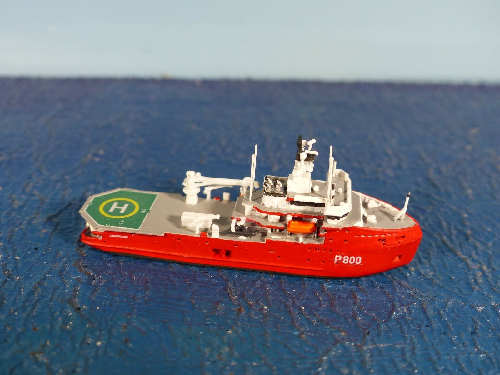 Klabautermann barco 1 1250 F. rompehielos  L 'Astrolabe  KLA-X 14 nuevo embalaje original..