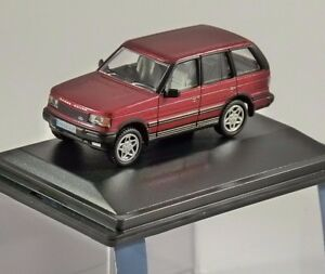 bdb5f427a4a7 Details about RANGE ROVER P38 in Rioja Red 1 76 scale model OXFORD DIECAST