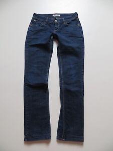 Levi S 571 Slim Fit Jeans Hose W 30 L 32 Dark Indigo Denim