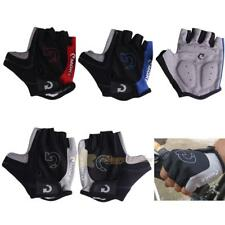 Road Bike Cycling Half Finger Gloves BMX Bicycle Riding Race Fingerletb