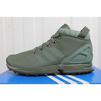 c248bc0c4cfda ... coupon code for mens adidas zx flux 5 8 green sneakerboot boots by9434  bnib 40 6b9e7