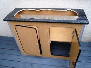 Details about Camper Van Kitchen Pod Motorhome Furniture Unit Built to  Order cupboard