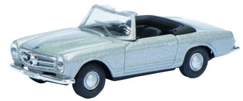 Schuco 1:87 452618100 Mercedes 280 SL Pagode silber NEU OVP