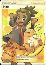 Pokemon TCG SM GUARDIANS RISING : HAU 144/145 FULL ART