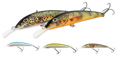 12cm 13g made in Poland Hand made trout lure Krakusek No.12 floating