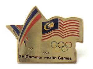 1994-XV-Commonwealth-Games-American-Flag-Pin-F992