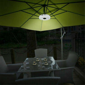 Details About Energy Saving 28 Leds 3level Dimming Patio Umbrella Light Parasol Lamp Cordless