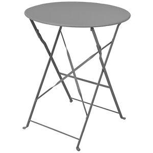 Table de jardin Table pliante ø60xh71cm Table de balcon Table de ...