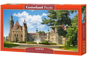"Castorland Puzzle 4000 Pieces MOSZNA CASTLE 138x68cm 54""x27"" Sealed box C-400027"