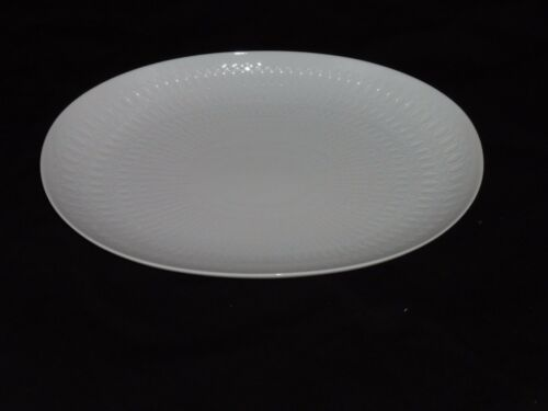 Oval Plate Meat Plate White Rosenthal Romance Porcelain New 29 cm
