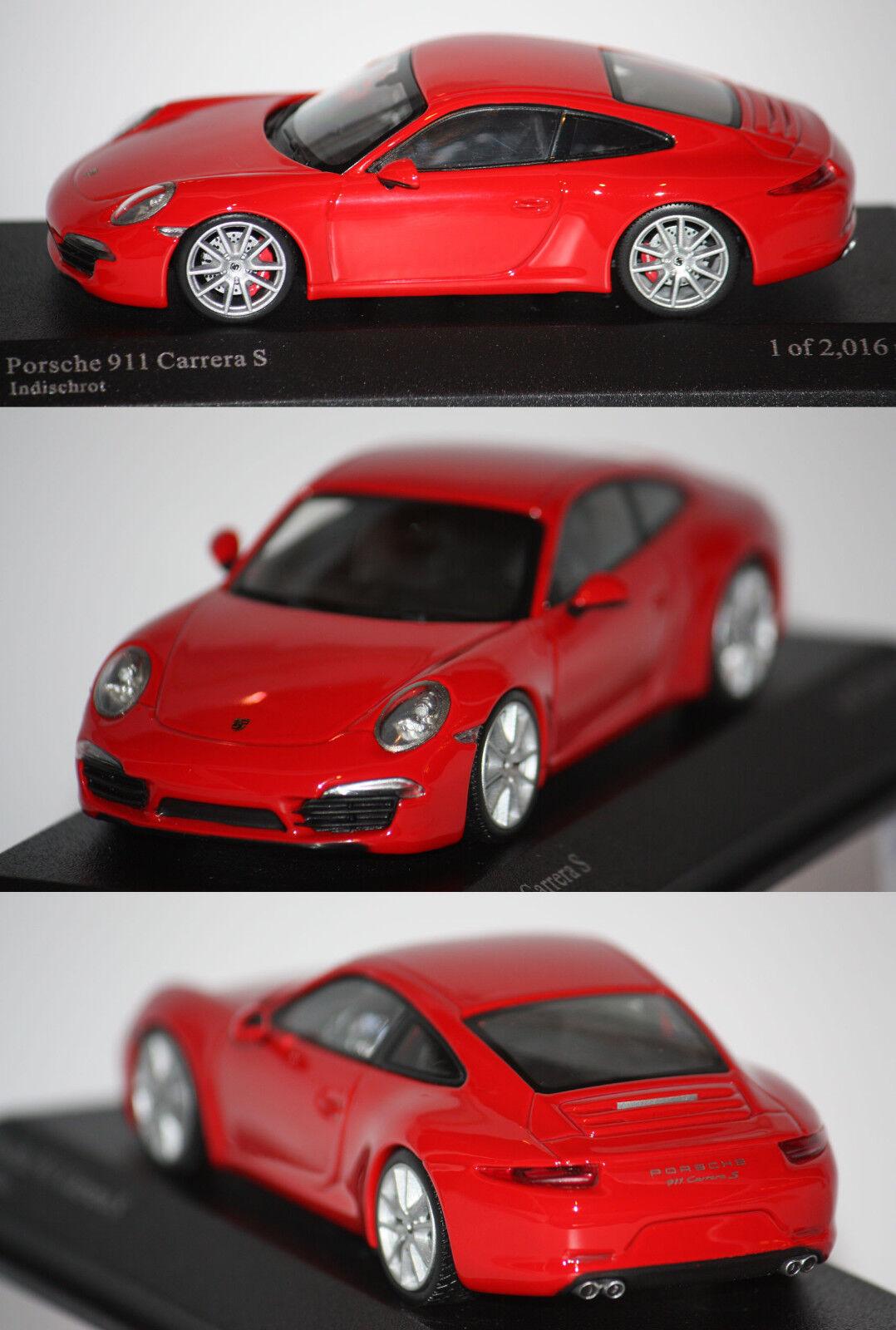 Bonnes vacances, bonne action Minichamps Porsche 911 (991) Carrera S 2012 rouge 1/43 410060220 | Online Store  | De Fin D'année Bonnes Affaires Vente  | Belle Couleur  | Les Produits De Base Sont