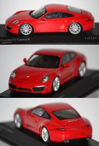 2012 Rosso 143 911991Carrera 410060220Ebay S Minichamps Porsche nw0O8PkNXZ
