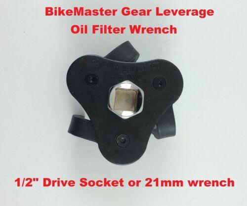 BikeMaster Motorcycle Gear Leverage Oil Filter Wrench Suzuki Removal Tool UTV