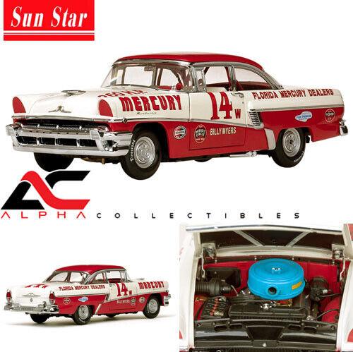 SUNSTAR SS-5147 1 18 1956 MERCURY MONTEREY  14 BILLY MYERS WINNER 1956