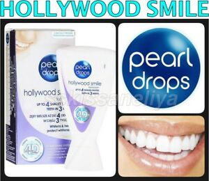 Pearl Drops Toothpaste 4d White Hollywood Smile Whitening