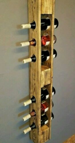 Shelves Vintage Bottle Holder with Pallet epal Solid Wood 120x15 cm