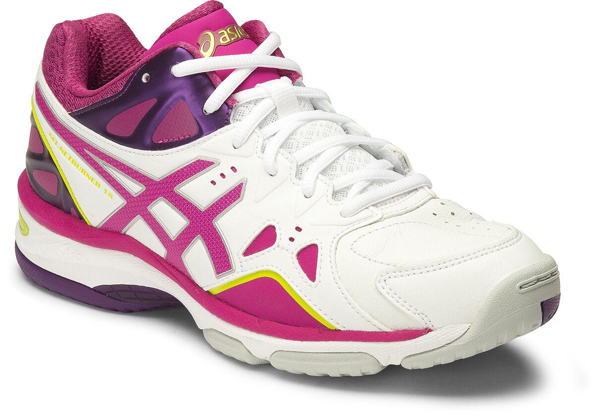 Asics Gel Netburner 18 Womens Netball shoes (D) (0121)   SAVE