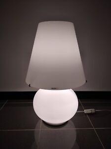 Lampada Da Tavolo Paralume Medio Murano Due 0406054363602 In Vetro 2xe27 70 42w Ebay