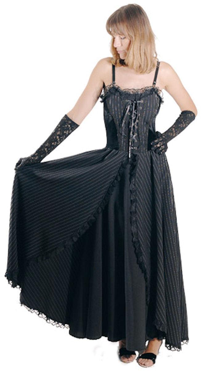 Gothic Mittelalter LARP Kleid Corsagenkleid Doppelrock Amber