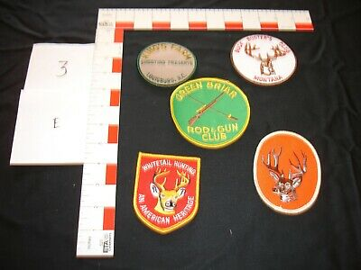 hiking collector camping fishing vintage patch set hunting