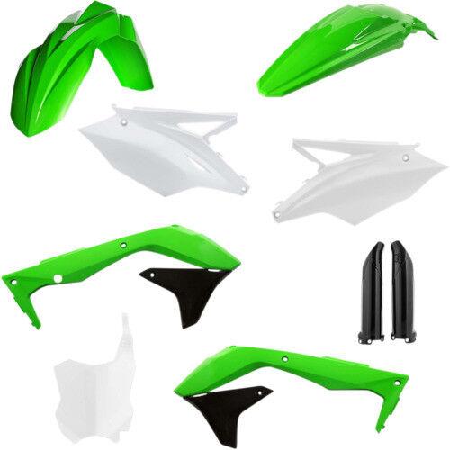 Acerbis Full Plastic Kit Original 16 Kawasaki KX450F 2016; 2449575135 73-1387