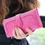 Long-Wallet-Faux-Suede-Woman-Lady-Purse-Female-Wallets-Card-Holder-Clutch thumbnail 6