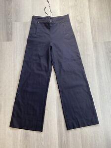 Wool US navy sailor trousers pants rockabilly nautical 30 X 29