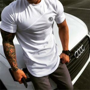 Men-Slim-Fitness-T-Shirts-Bodybuilding-Sports-Gym-Wear-Quick-Dry-Workout-Clothes