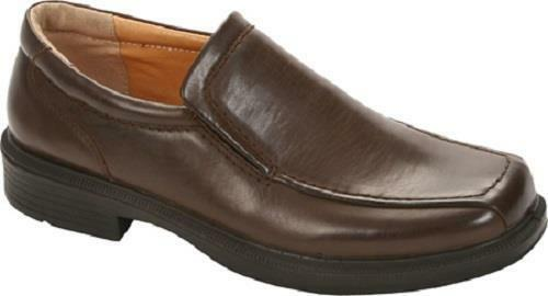 DEER STAGS Greenpoint Brown Men's Loafers Slip On Casual Dress shoes NEW