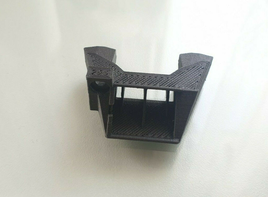 Original Prusa i3 mk3 (not mk3S) fan nozzle shroud B7 R3 Polycarbonate (not ABS)