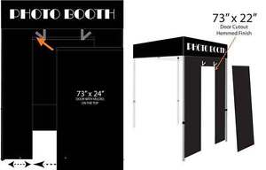 Image is loading Impact-Canopy-5x5-Photo-Booth-Pop-Up-Canopy-  sc 1 st  eBay & Impact Canopy 5x5 Photo Booth Pop Up Canopy Tent with Roller Bag ...