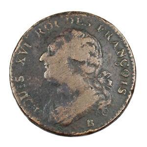 Monnaie-Royale-France-Louis-XVI-12-deniers-au-faisceau-Annee-1792-Atelier-de-Rou