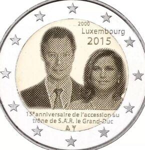 Luxembourg Pièce 2 € Euro 2015 Commémorative 15y Acession Gran Duque Neuf Unc-afficher Le Titre D'origine Mpa8nfdg-07232051-426350729