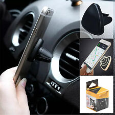 360° Universal Magnetic Car Mobile Phone Suction Mount Air Vent Holder GPS PDA