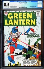 Green Lantern 1 CGC 8.5 OW/W Silver Age Key DC Comic 1st Issue IGKC L@@K