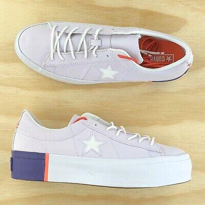 Star Platform Ox Lift White Purple Low