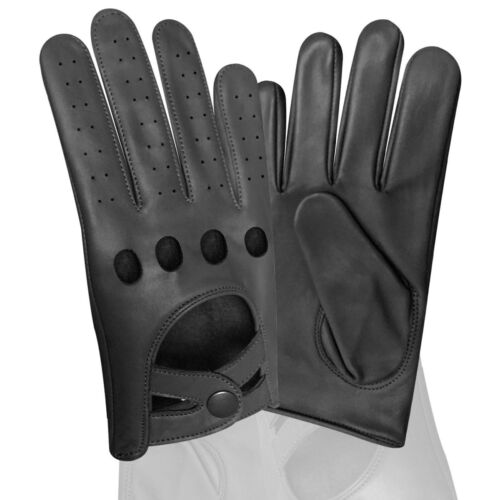 Real Soft Nappa cuir Homme conduite mode chic Gants D-511