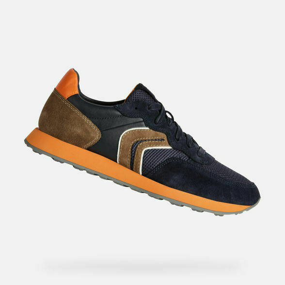 zapatillas Geox U VINCIT NAVY CHOCOLATE (92GU)