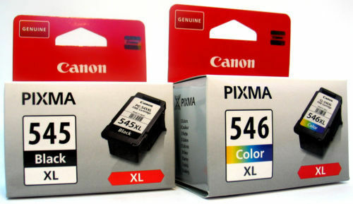 Canon Original PG545XL CL546XL Black Colour Set Ink