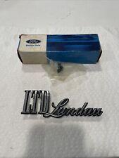 Nos Ford D5az 16098 A 1975 78 Ltd Landau Fender Emblem Ornament Galaxie 500 Oem