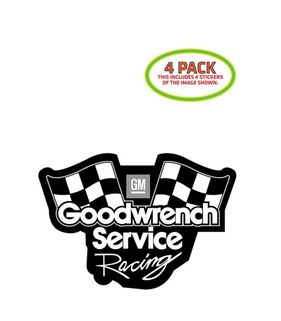 GOODWRENCH SERVICE GM RACING retro rally Decal Sticker