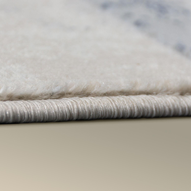 Teppich Modern Stil Skandinavisch Skandinavisch Skandinavisch Used Look Streifenoptik Jeans Blau Trend Grau 66ce84
