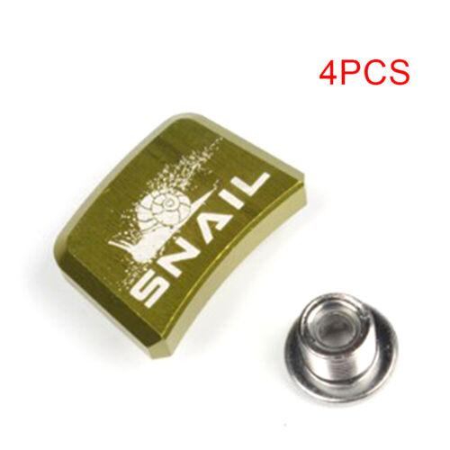 Crank screw 4pcs Bolts Single Speed Aluminum Nut Chainring High Quality