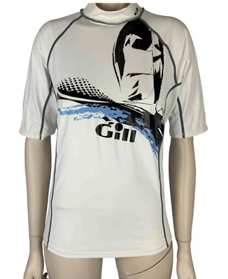 Gill Sailing Tech Turtleneck Shirt Long Sleeve Black Extra Small Water Shirt