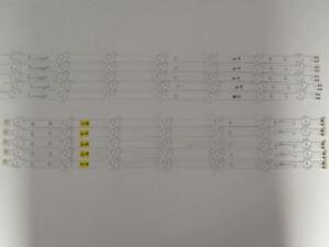 Samsung-UN55FH6030FXZA-LED-Backlight-Strip-Set-10-BN96-28772A-BN96-28773A