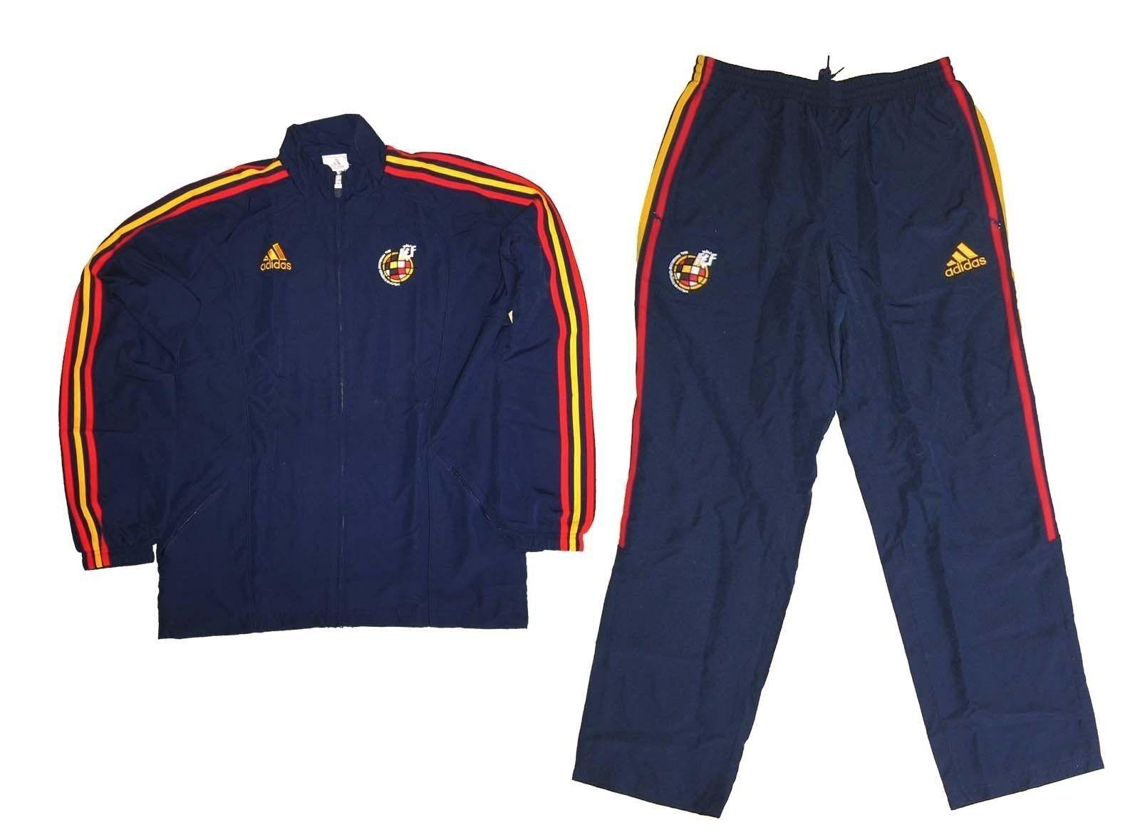 Spanien Spain Espana Trainingsanzug Presentation Suit Chándal Adidas Gr.M (5)  | Nicht so teuer